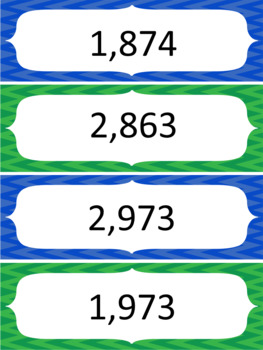 Place Value Comparing & Ordering Whole & Decimal Numbers Activities (Math Files)