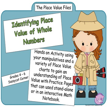Place Value Files - Identify & Name Place Value of Whole Numbers Hands On Lesson