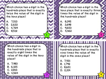 Place Value Files - Place Value Puzzler Task Cards