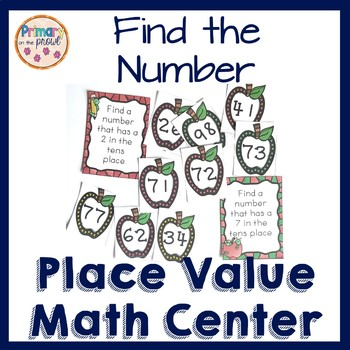 Place Value Find the Number Activity