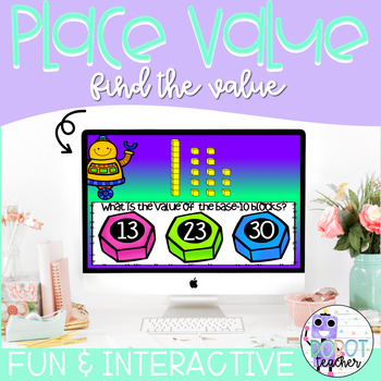 Place Value: Find the Value Boom and Task cards