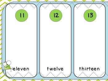 Place Value Finger Sort (Kindergarten, K.NBT.1)