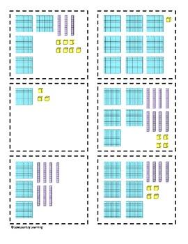 Place Value Flash Cards - 2.NBT.1