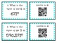 Place Value Flash Cards using QR Codes 0-999,999
