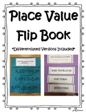 Place Value Flip Book