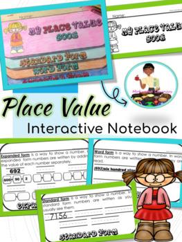 Place Value Flip Book 2.NBT.1