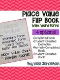 Place Value Flip Book {4 options}