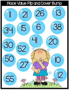 Place Value Flip and Cover Bump