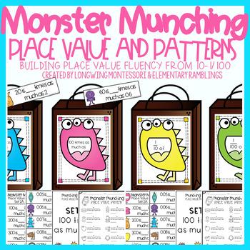 Place Value Fluency: Monster Munching