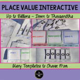 Place Value Interactive Foldable