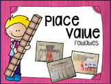 """Place Value """"Interactive Notebook Foldables"""""""