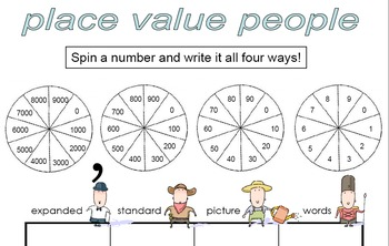 Place Value Folder Center