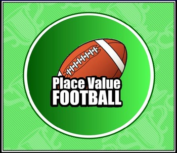 Place Value Football Board Game (FREE!)