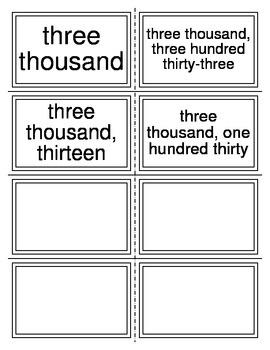 Place Value Form Task Cards (TEKS 2.2A)