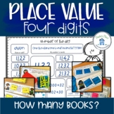Place Value Four Digits Learning Centers