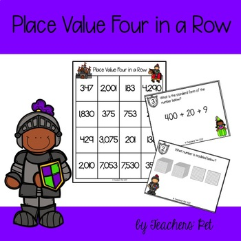 Place Value Four in a Row