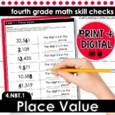 Place Value | Fourth Grade Math 4.NBT.1