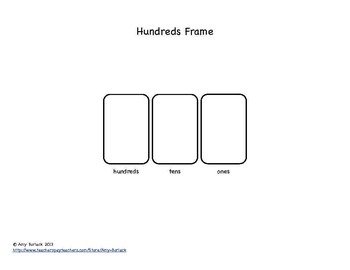 Place Value Frames: A Listening and Mental Math Resource