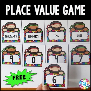 Place Value FREE: A Place Value Game