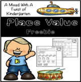 Place Value Freebie - Numbers 1-10
