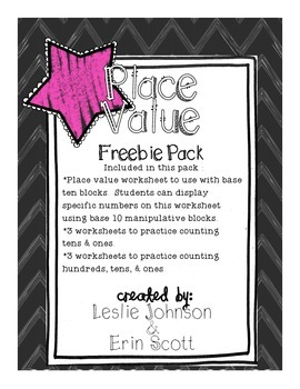 Place Value Freebie Pack