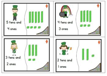 Place Value Freebie - St. Patrick's Day theme
