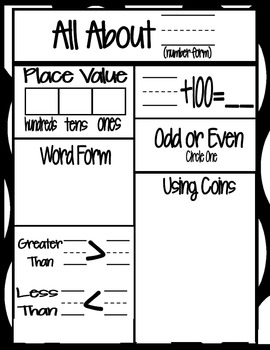 Place Value Freebie with 2 MORE Versions!
