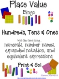 Place Value Fun: Bingo Plus!  {Print & Go!}