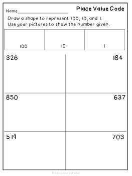 Place Value Fun! Great for beginning of the year