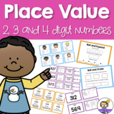 Place Value Fun Pack - 2 digit, 3 digit and 4 digit numbers