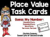 Place Value Task Cards: Guess My Number