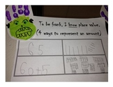 Place Value Fun with Frankenstein! CCSS First Grade NBT