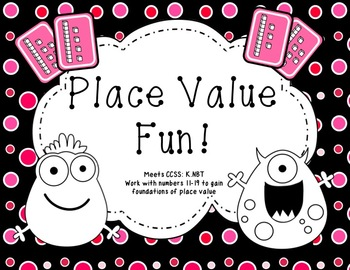 Place Value Fun with Numbers 11-19