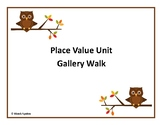 Place Value Gallery Walk: Whole Numbers and Decimals