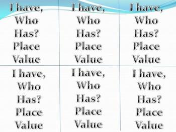 Place Value Game - 5.NBT.A.1