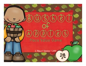 Place Value Game (Apple Theme for Grades 3-5)
