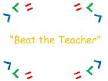 Place Value Game- Beat the Teacher