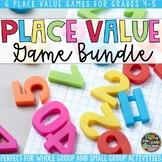 Place Value Game Bundle   Place Value Activities   Place Value Review Games