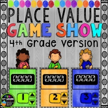 Place Value Game Bundle | Place Value Activities | Place Value Review Games