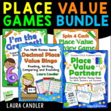 Place Value Games Bundle | Whole Number and Decimal Activities