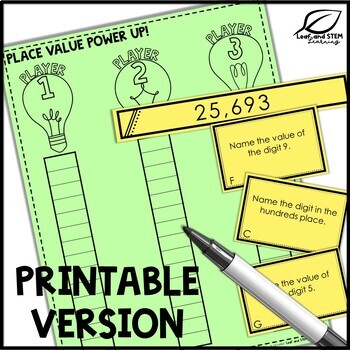 Place Value Game | Distance Learning