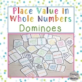 Place Value Game Dominoes