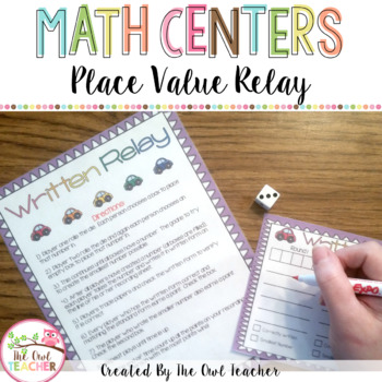 Place Value Relay Expanded Form Standard Form And Written Form
