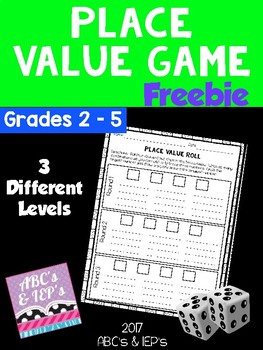 Place Value Game FREEBIE