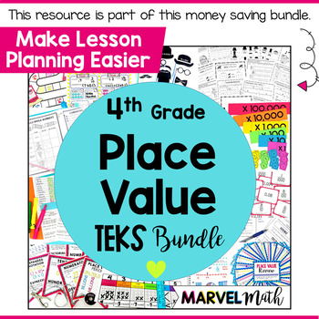 Place Value Game Fraction & Decimal Matching to the Hundredths Place