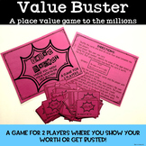 Place Value Game Identifying Values to the Millions