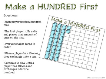 Place Value Game: Make 100 by Regrouping Ones and Tens