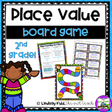 Second Grade Place Value:  Board Game