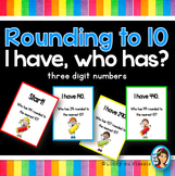 Place Value Game - Round to 10 - 3.NBT.A.1