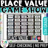 Place Value Game Show Review | 5th Grade | Digital Test Pr